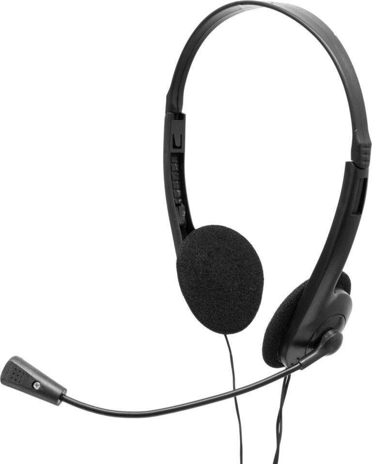 "CASTI Spacer, cu fir, standard, utilizare multimedia, call center, microfon pe brat, conectare prin Jack 3.5 mm x 2, negru, ""SPK-223"", (include TV 0.75 lei)"