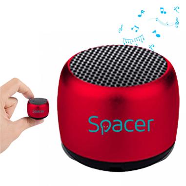 "BOXA SPACER portabila bluetooth, Cri-Cri-RED, RMS: 3W, control volum, acumulator 300mAh, timp de functionare pana la 2 ore, distanta de functionare pana la 10m, incarcare USB, RED, ""SPB-Cri-Cri-RED"" 43501767 (include TV 0.15 lei)"