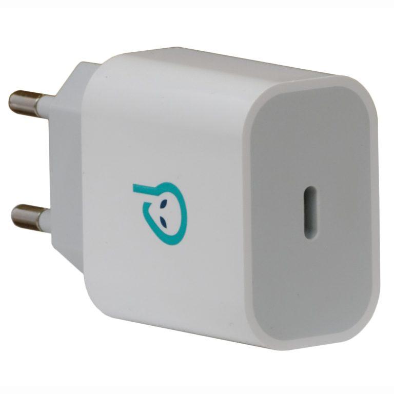 "INCARCATOR retea SPACER Quick Charge 18W, USB Type-C ""SPAR-TYPECQ-01"""