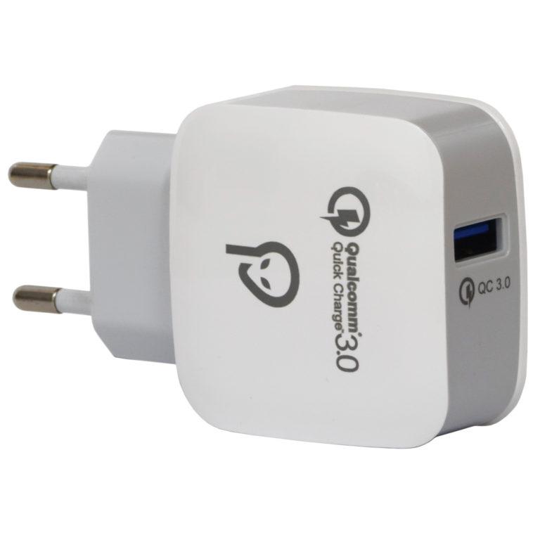 "INCARCATOR retea SPACER Quick Charge 3.0 18W, USB ""SPAR-USBQ-01"""