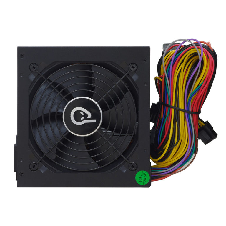 """SURSA SPACER TP500 (500W for 500W GAMING PC), fan 120mm, 1x PCI-E (6), 5x S-ATA, 1x P8 (4+4), retail box, """"SPPS-TP-500"""", (include TV 1,5 lei)"""